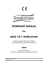 Original Mini Tilt Workshop Manual - Tendercare Ltd