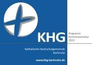 KHG - Katholische Hochschulgemeinde