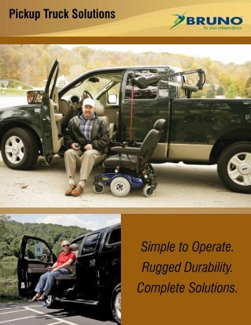 For Pickup Trucks - Brunswick Mobility