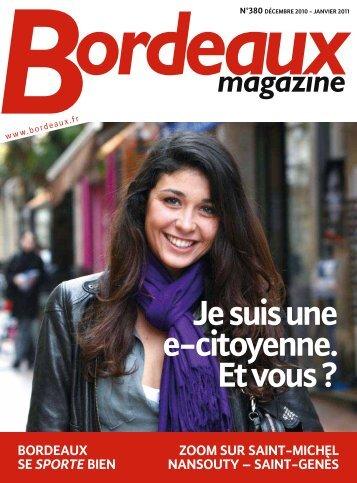 Bordeaux magazine - N°380 - Décembre 2010 - Janvier 2011