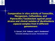Comparative in vitro activity of Temocillin, Meropenem, Ceftazidime ...