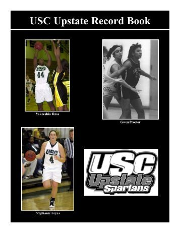 USC Upstate Record Book