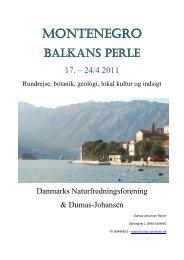 Læs mere om påskerejsen til Montenegro her. - Danmarks ...
