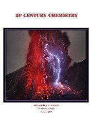 21st Century Chemistry - Secondary Programs - Brevard Public ...