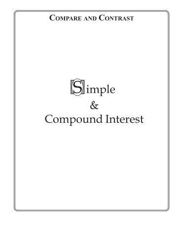 Compound Interest Worksheet About Com Proga Info