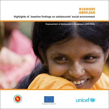KISHORI ABHIJAN - United Nations in Bangladesh