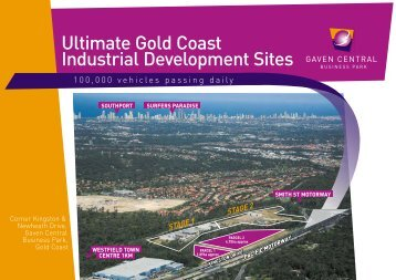 Ultimate Gold Coast Industrial Development Sites GAVEN CENTRAL