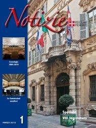 Speciale VIII legislatura - Consiglio regionale del Piemonte