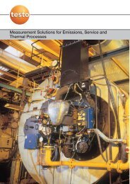 Measurement Solutions for Emissions, Service ... - Industrial Controls