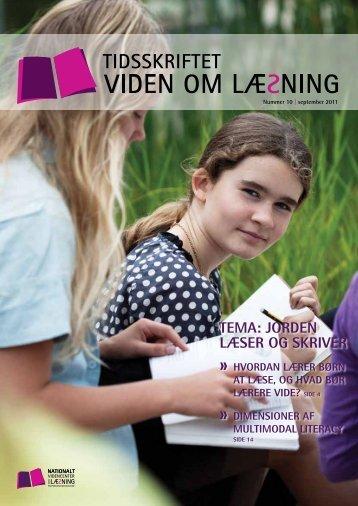 TEMA: JordEn læsEr og skrivEr - Viden om Læsning