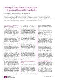 Download artiklen her - Viden om Læsning