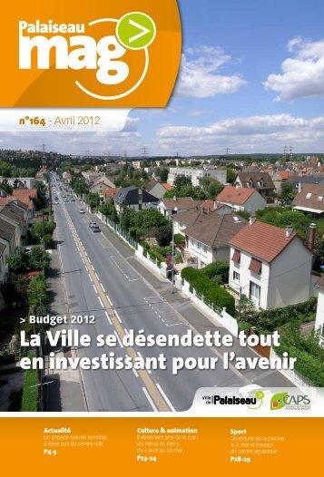 Palaiseau mag n°164 - Avril 2012 - Ville de Palaiseau