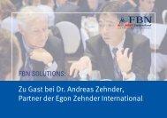 Zu Gast bei Dr. Andreas Zehnder, Partner der Egon Zehnder ...