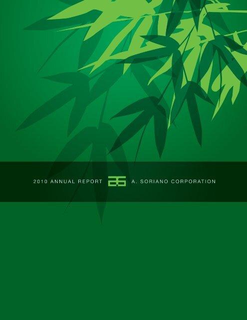 2010 Annual Report - A. Soriano Corporation