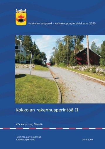 XIV kaup.osa, Närvilä - Kokkola