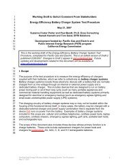 Working Draft to Solicit Comment From ... - Efficient Products