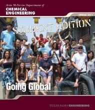 Spring 2011 - Department of Chemical Engineering - Texas A&M ...