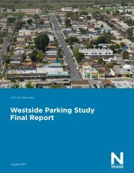 Westside Parking Study Final Report - City Of Ventura