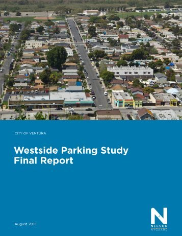 Westside Parking Study Final Report - City Of Ventura