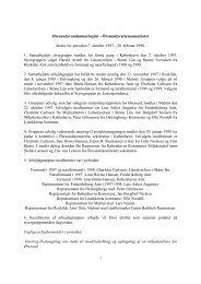 Status Report No. 1 1998 - Øresundsvandsamarbejdet