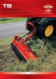 Böschungsmulcher TB 151 - TB 181 - TB 211