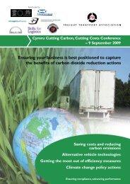 FTA Cymru Cutting Carbon, Cutting Costs Conference 2009