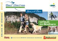 Gastgeberverzeichnis Bad Sachsa und Samtgemeinde Walkenried ...