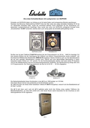 wirkungsgrad und frequenzgang der wirkungsgrad eines isophon. Black Bedroom Furniture Sets. Home Design Ideas