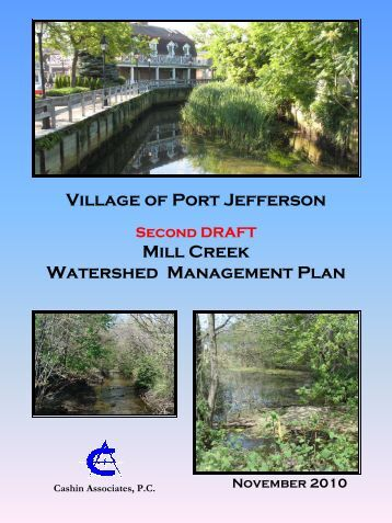 Village of Port Jefferson Mill Creek Watershed Management Plan
