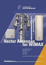 for WiMAX Vector Antennas - European Antennas
