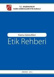 Kamu Görevlileri Etik Rehberi - Türkiye İstatistik Kurumu