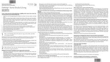 5 Wie sind OeKolp forte Ovula 0,5 mg - Dr. Kade