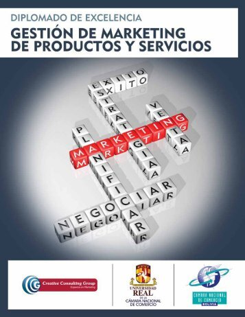 gestión de marketing de productos y servicios - Universidad Real