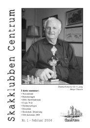 Klubblad nr. 1/2004 - Skakklubben Centrum