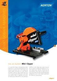 Scie de chantier Mini Clipper - Norton Construction Products