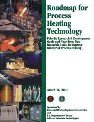 Roadmap for Process Heating Technology - EERE - U.S. ...