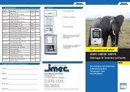Datenlogger für Temperatur und Feuchte - imec Messtechnik GmbH
