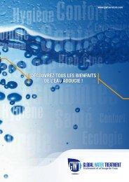 Plaquette Entreprise - L'eau est un bien précieux que nous…