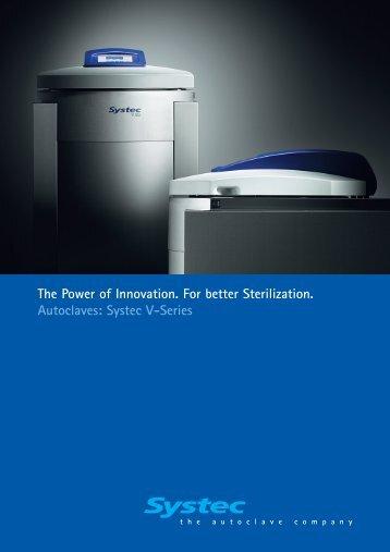 Systec V-Series - TekniScience.com