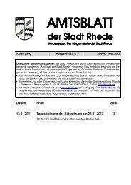 Amtsblatt Ausgabe 01-2012