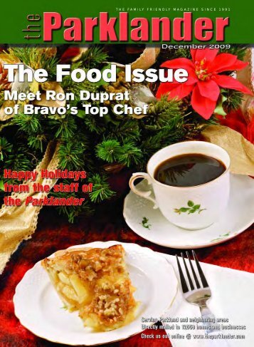December 2009 - The Parklander Magazine