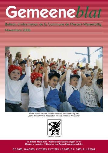 21.12.2005 - Administration Communale de Mertert