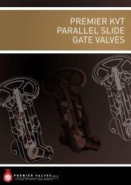PREMIER PARALLEL SLIDE GATE VALVES ... - Premier Valves