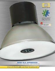 KOOLBAY™ LED Luminaire Brochure - Hubbell Industrial Lighting