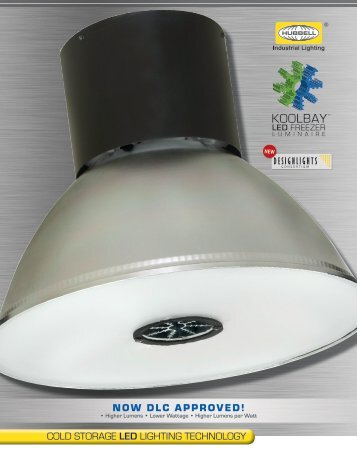 KOOLBAY™ LED Luminaire Brochure - Hubbell Industrial Lighting