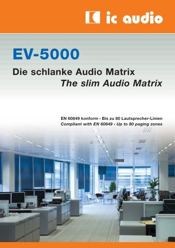 EV-5000 - Kain Audio Technik