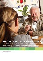 DIT HJEM – MIT ARBEJDE - BAR - service og tjenesteydelser.