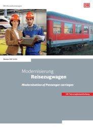 Modernisierung Reisezugwagen - Deutsche Bahn AG
