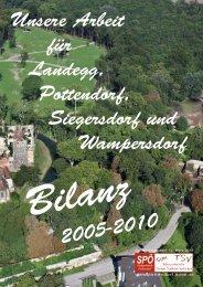 Bilanz 2005 - Pottendorf - SPÖ