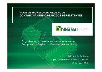 Presentación DINAMA-LABORATORIO